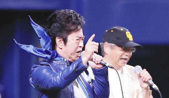 水木一郎さんと山本正之さんが「燃えよドラゴンズ!2019 令和の激励」を試合前に熱唱!【動画】