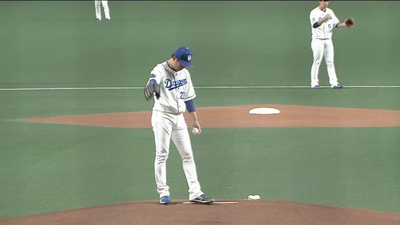 中日・大野雄大投手「1番好きな球場、マウンドですし、ここで投げる試合は全部勝たないといけないと思っているので」【投球結果】