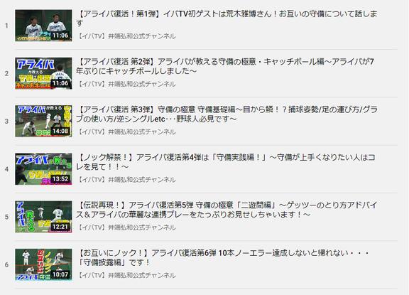今年もYouTubeでアライバ共演! 井端弘和さんの公式YouTubeチャンネルに中日・荒木雅博コーチが出演決定!!!