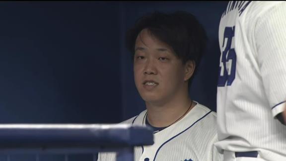 中日・柳裕也投手、めちゃくちゃ悔しがる