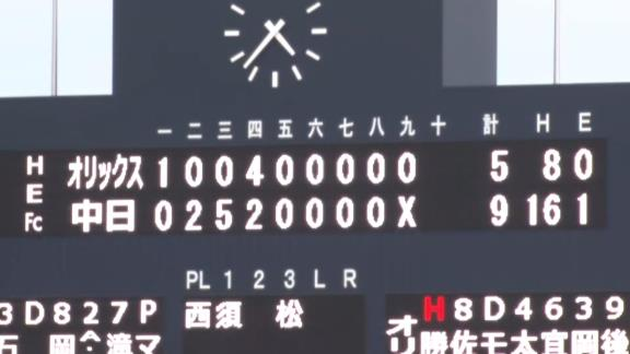 9月16日(水) ファーム公式戦「中日vs.オリックス」【試合結果、打席結果】 中日2軍、打線爆発!逆転勝利で驚異の9連勝!!!