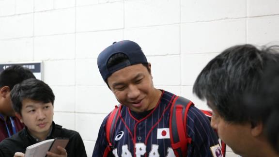 中日・大野雄大投手、プレミア12台湾戦後のインタビュー 「マツダスタジアムとかもああいう感じで」【動画】