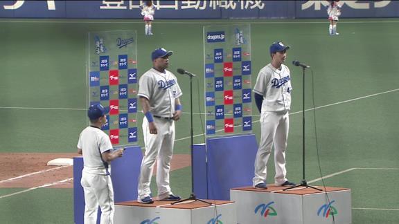 中日・勝野昌慶、6回2失点の好投でヤクルト戦以外で初勝利!「これからもっといろんなチームで勝てるように頑張りたいと思っています」【投球結果】
