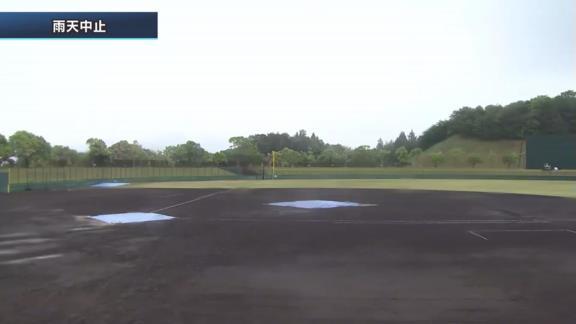 5月12日(水) ファーム公式戦「広島vs.中日」【試合結果、打席結果】 中日2軍、初回に2点を先制するも降雨ノーゲームに…
