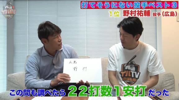 井端弘和さん「人間と人間の相性がなかった」 もしも2020年シーズン現役だったとして打てそうにない投手ベスト3 1位はあの投手…【動画】