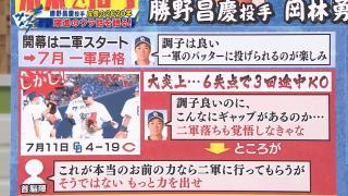 6失点の大炎上で2軍降格を覚悟した中日・勝野昌慶投手だったが…首脳陣「これが本当のお前の力なら2軍に行ってもらうが、そうではない。もっと力を出せ」