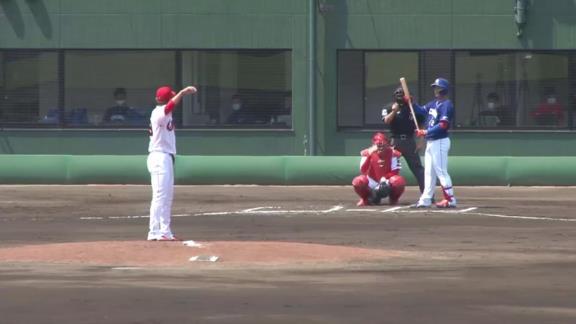 中日ベンチ「やっと出た~」 石川昂弥、今季第1号2ランホームランを放つ!!!【動画】