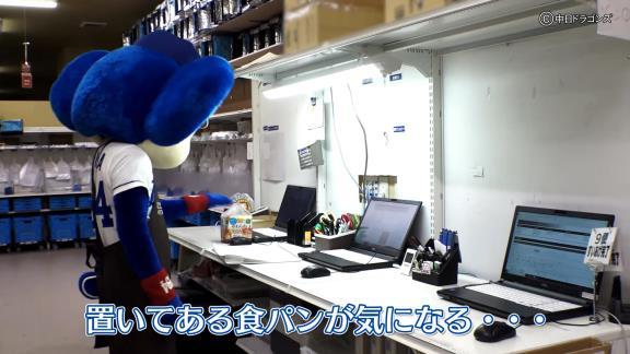 中日・ドアラ、イオンで働く【動画】