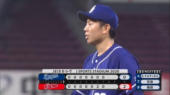 中日・松葉貴大、7回94球2失点HQSの好投を見せるが援護無く3連勝ならず…「鈴木誠也選手に打たれた球が唯一、自分の失投だと思います」 与田監督「責めるわけにはいかない」【投球結果】