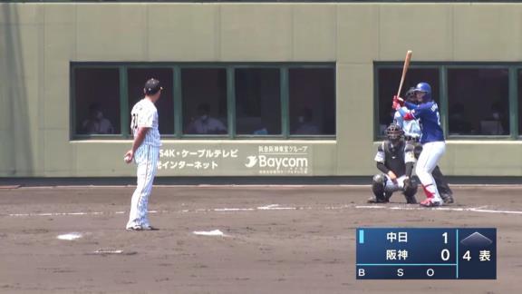 中日・石川昂弥、今季第3号ホームラン含む3安打3打点の大暴れを見せるも最終打席で死球を受け途中交代…