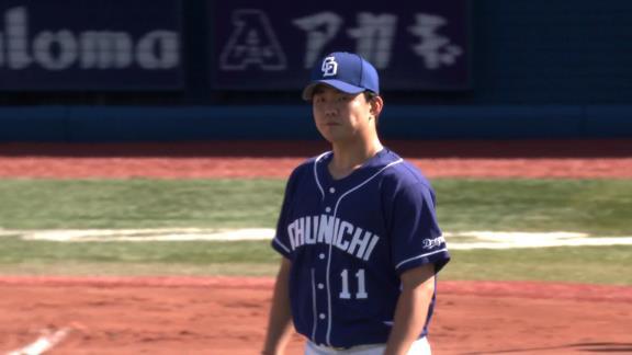 中日・小笠原慎之介投手「立ち上がりも反省ですが、5回の本塁打は防ぎたかったです。あの回は0で抑えて戻ってきたかった…」 与田監督「見た感じ少し悩んでいるような雰囲気があった」