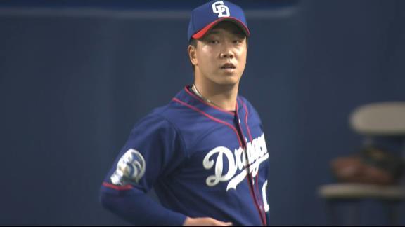 中日・柳裕也投手「前半、リードをもらったのに吐き出してしまって申し訳ないです」 今季11勝目はならず、現在の先発投手タイトル争い状況は…?