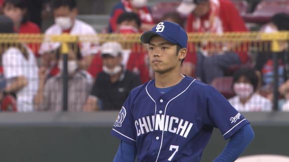 中日・根尾昂、エグすぎる送球を連発する【動画】