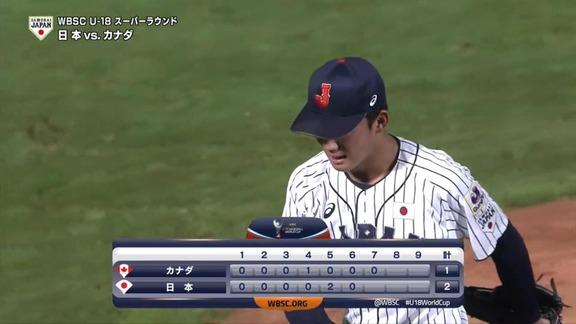 星稜・奥川恭伸、『U18日本代表vs.カナダ代表』で驚異の7回18奪三振投球【全奪三振動画】