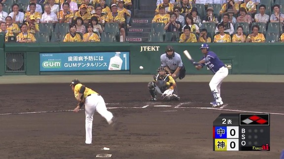 中日・ロメロ、阪神・藤浪のデッドボールを警戒する…