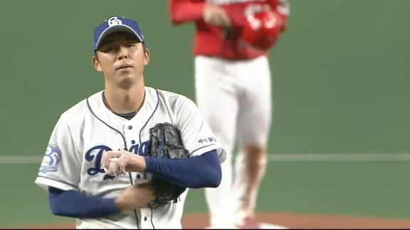 中日・笠原祥太郎、復活勝利ならずも…粘り強く5回1失点の好投!「緊張しました」