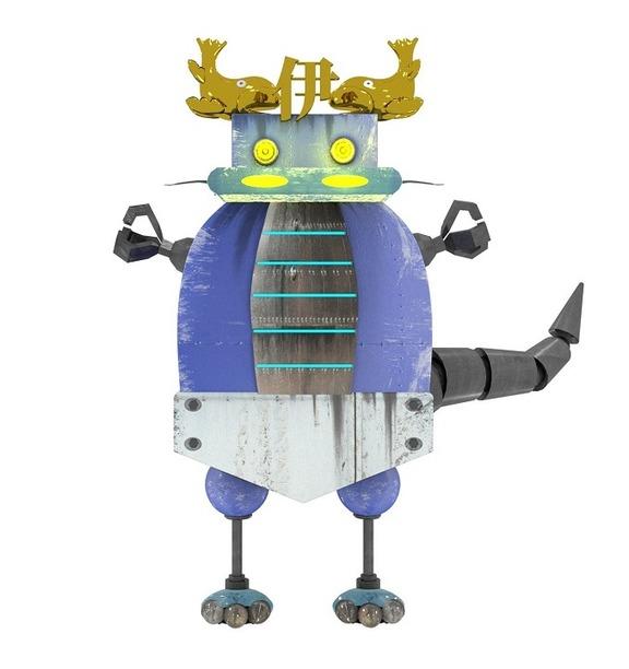 中日ロボット