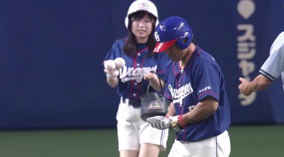 死球交代の中日・平田良介について『骨折はなかった』