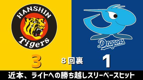 10月27日(火) セ・リーグ公式戦「阪神vs.中日」 スコア速報