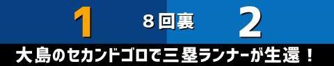 5月3日(月) セ・リーグ公式戦「中日vs.DeNA」【試合結果、打席結果】 中日、1-2で敗戦…DeNA投手陣打ち崩せず、連勝は2でストップ