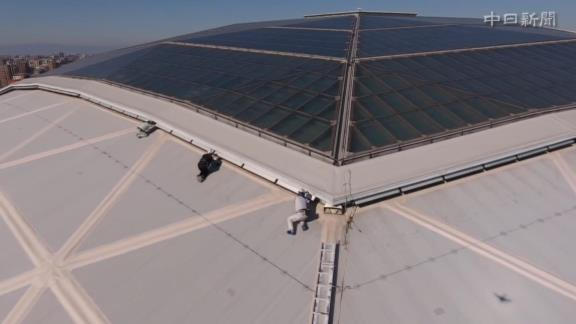 中日本拠地・ナゴヤドームの点検作業が行われる 貴重なナゴヤドーム屋根の接近映像が公開【動画】