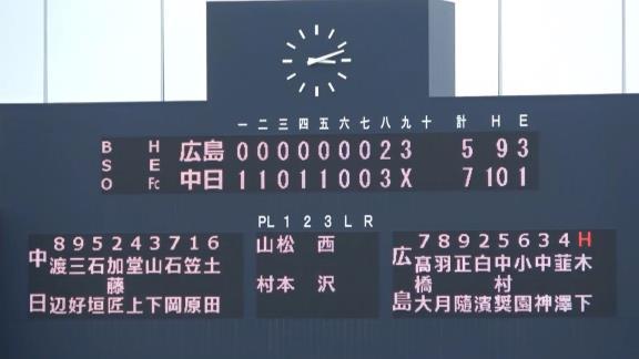3月25日(木) ファーム公式戦「中日vs.広島」【試合結果、打席結果】 中日2軍、7-5で勝利!勢い止まらず4連勝!!!
