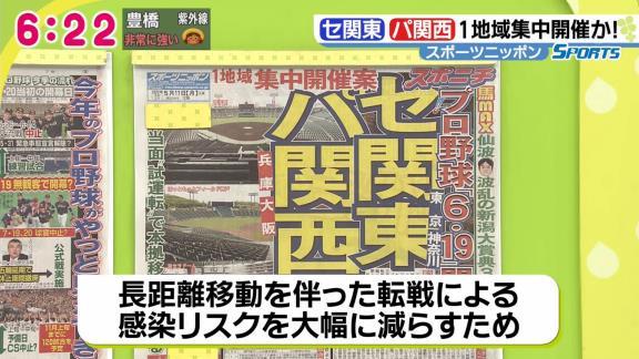 """プロ野球、""""地域集中開催案""""が浮上 セ・リーグは関東、パ・リーグは関西"""