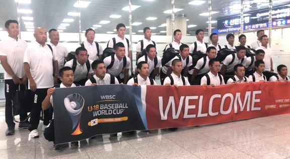 """野球U18高校日本代表、""""日の丸なし""""のポロシャツで韓国入り 混乱やトラブルなく宿泊施設へ"""