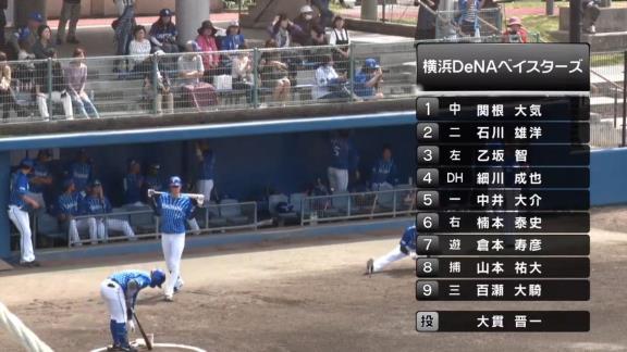 2月25日(火) 練習試合「中日vs.DeNA」【試合結果、打席結果】