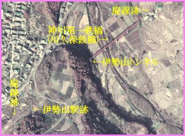 廃線跡訪問記 : 殿城口