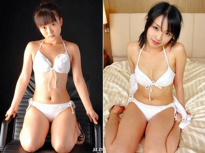 091227aa2 聞くところによれば,森山花奈さんの特技の「水着ブリッジ」の下を通り抜けると,