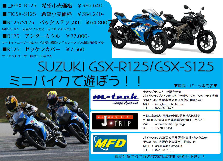 GSX-R125S125