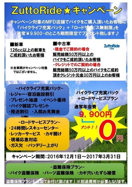 12月から3月キャンペーン