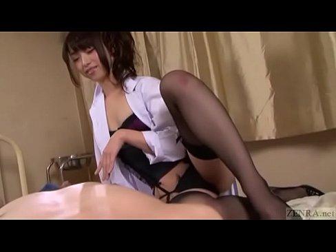 ストッキング痴ジョの痴女語責めに悶絶 (えろムービー)