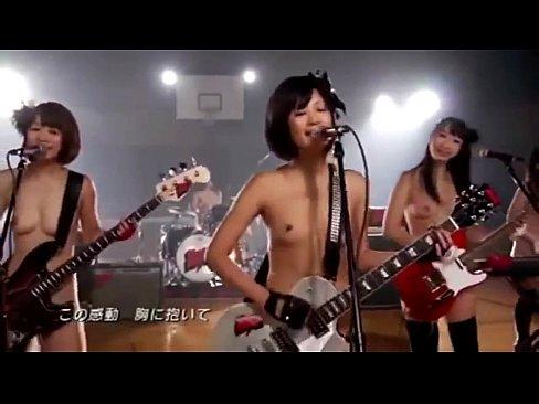 もしもGALバンドが皆裸だったらwwwwww (えろムービー)