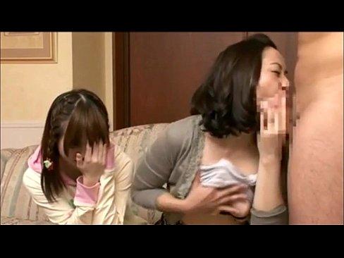 お母ちゃんと小娘で仲良くチンパク研究 (えろムービー)