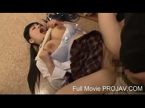 制服女子校生の図書館セックス、こっそり抜いちゃうw 【エロ動画】
