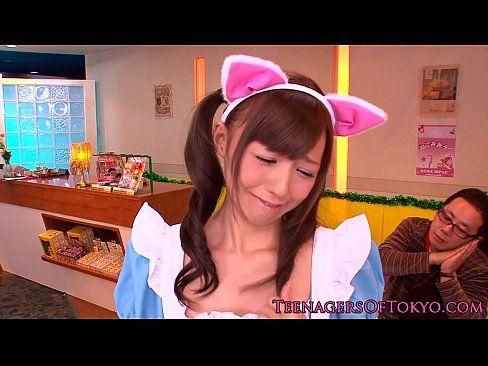 猫耳少女カワメイドさんがセックスなご奉仕しちゃいます☆ (えろムービー)