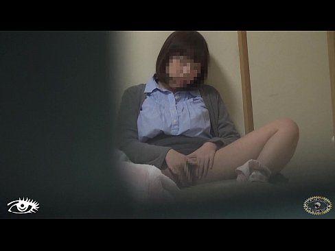 カーテン越しにおなにーガチ秘密撮影 part2 (えろムービー)