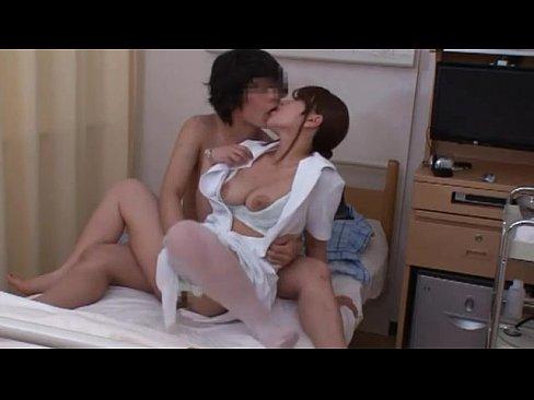 セックスな新人ナァスが入院患者と隠し撮り映像 (えろムービー)