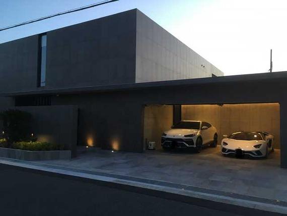 【画像】芦屋のお金持ちが建てた家カッコ良すぎワロタwwwwwwwww