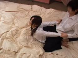 盗撮動画☆初めてのラブホテルでおもいっきり激しいエッチに励む学生カップル(彼女が激カワ♪)