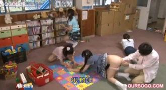 ちびっ娘たちが遊ぶ園内はフリーSEX!おっさん悶絶大人の遊園地!