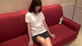 個人撮影 ★ 乃木坂46にいそうな美少女が制服生ファックスしてる・・・ これは、ヤバイ・・・・