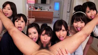 揃いも揃った美少女AV女優7人とハメまくり共同生活!