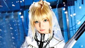 西田カリナ 日米ハーフ美少女剣士のアナル&マ○コに2穴中出し!