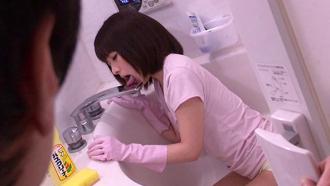 お姉ちゃんがお風呂でフェラの練習をしてたから勃起チンコを提供したったwww