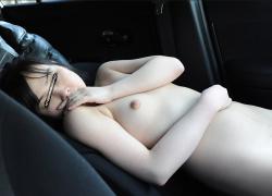 【無】【千歳真央】言いなりな素人ロリ娘と羞恥カーセックス+中出しハメ撮り♪