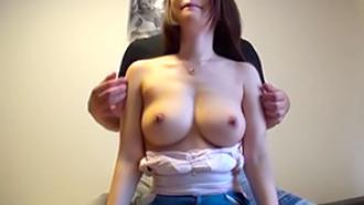 【個人撮影】美乳スゲェ!行きつけの美容院の女の子を口説いてハメ撮り!