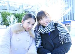 まさかの安藤○姫と浅田○央のパロAV爆誕www
